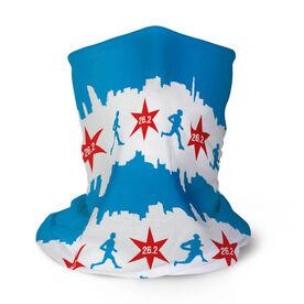 Running Multifunctional Headwear - Chicago Flag 26.2 RokBAND