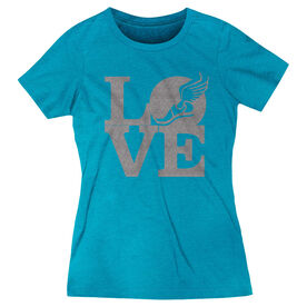 Track & Field Everyday Tee Winged Foot Love