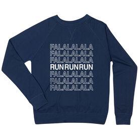 Running Raglan Crew Neck Sweatshirt - FalalalaRun