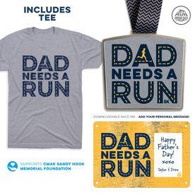 Virtual Race - Dad Needs A Run 5K (2021)