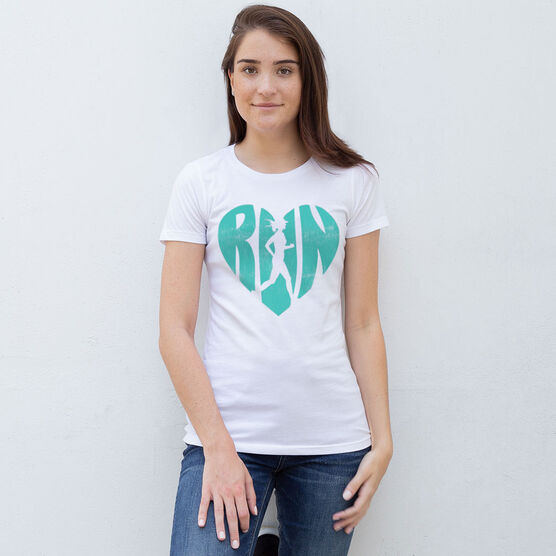 Women's Everyday Tee Love The Run