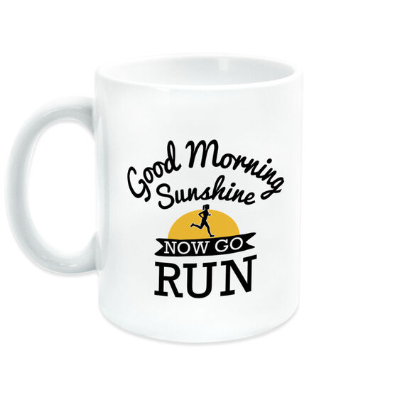 Running Coffee Mug - Good Morning Sunshine