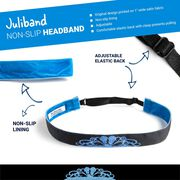 Running Juliband Non-Slip Headband - Tiara (Blue)