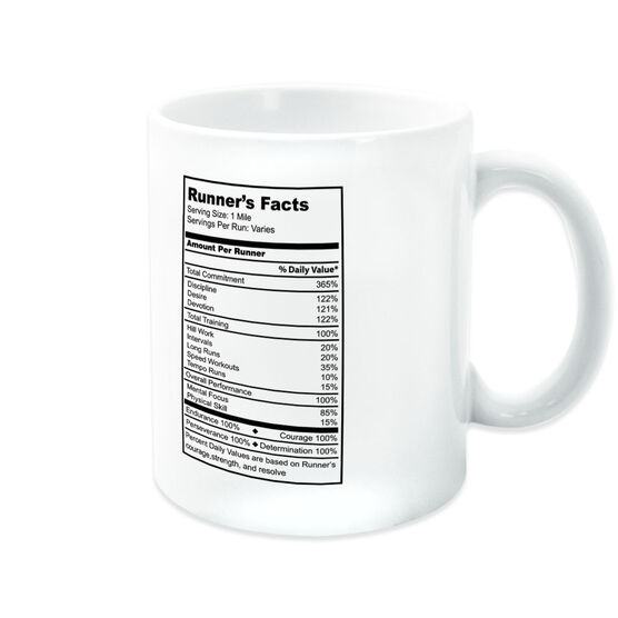 Running Coffee Mug - Runner's Facts