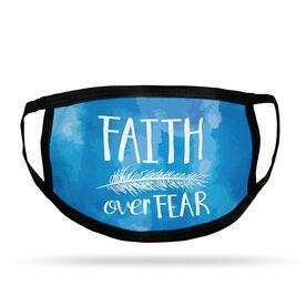 Adult Face Mask - Faith Over Fear
