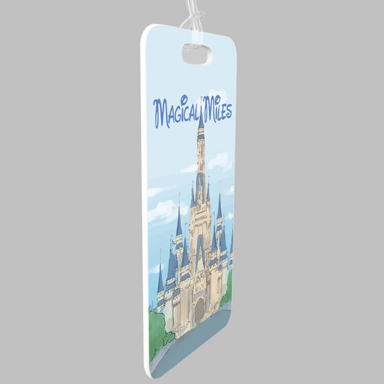 Running Bag/Luggage Tag - Magical Miles Sketch