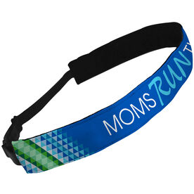 Julibands No-Slip Headbands - Moms Run This Town Diamond Pattern