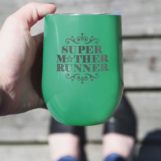 Running Stainless Steel Wine Tumbler - Super Mother Runner