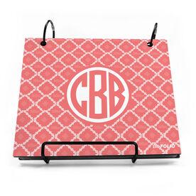 BibFOLIO® Race Bib Album - Shoe Patterned Monogram