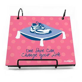 BibFOLIO® Race Bib Album - One Shoe Can Change Your Life