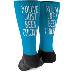 Running Printed Mid-Calf Socks - You've Just Been Chicked