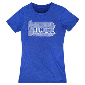 Women's Everyday Runners Tee Pennsylvania State Runner