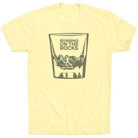 Vintage Running T-Shirt - Running On The Rocks