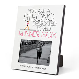 Running Photo Frame - Strong Runner Mom