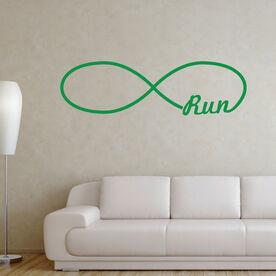 Run Forever GoneForaRunGraphix Wall Decal