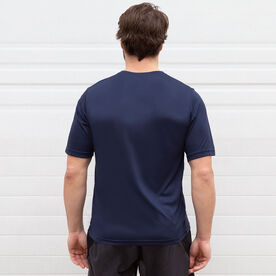 Men's Running Short Sleeve Tech Tee - Run First Can