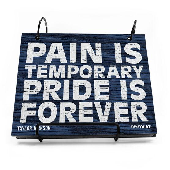 BibFOLIO® Race Bib Album - Pride Is Forever Rustic