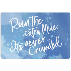 "Running 18"" X 12"" Wall Art - Run The Extra Mile"