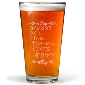 16 oz Beer Pint Glass Mother Runner