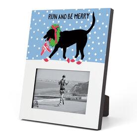 Running Photo Frame - Run And Be Merry
