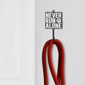 Running Medal Hook - Never Run Alone