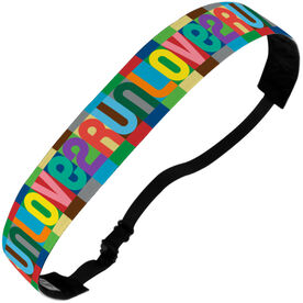Running Julibands No-Slip Headbands - Love 2 Run (Color)