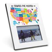 Scratch Off Frame - States I've Visited
