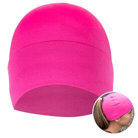 Performance Ponytail Cuff Hat - Pink