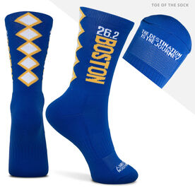 Socrates® Mid-Calf Performance Socks - Boston 26.2