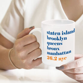 Running Coffee Mug - 26.2 NYC Mantra