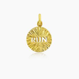 Livia Collection 14K Gold Vermeil Sunburst Run Charm