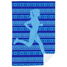 Running Premium Blanket - Tribal