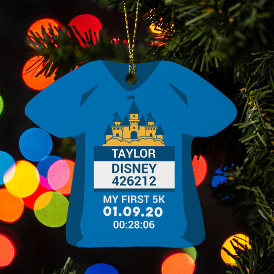 Running Ornament - Magical Miles Shirt