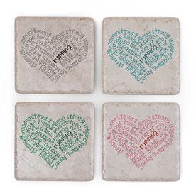 Running Stone Coaster Set of 4 - Inspiration Heart