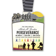 Virtual Race - The 3rd Annual Akida H. Jordan Perseverance 5K Walk, 10K Run & 20K Cycle Event for Cancer Awareness (2020)