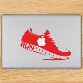 Runner Shoe Removable GoneForaRunGraphix Laptop Decal