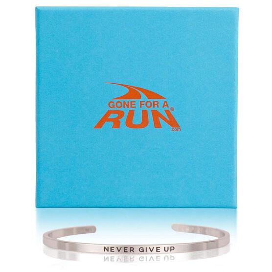 InspireME Cuff Bracelet - Never Give Up