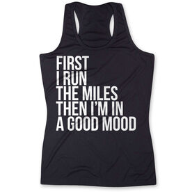 Women's Performance Tank Top - Then I'm In A Good Mood