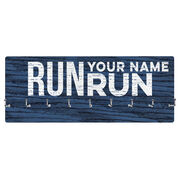 Running Hooked on Medals Hanger - Run Your Name Run