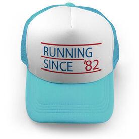 Running Trucker Hat Running Since
