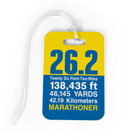 Running Bag/Luggage Tag - 26.2 Math Miles