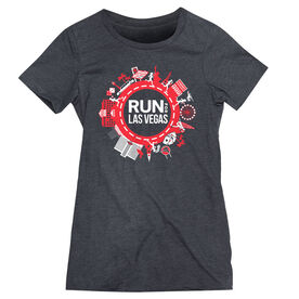 Women's Everyday Runners Tee - Run for Las Vegas