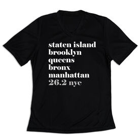 Women's Short Sleeve Tech Tee - Run Mantra - NYC