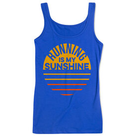 Running Women's Athletic Tank Top - Running is My Sunshine