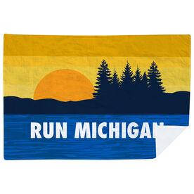 Running Premium Blanket - Run Michigan
