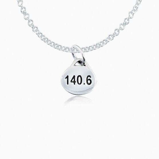 Sterling Silver 140.6 Triathlon Necklace