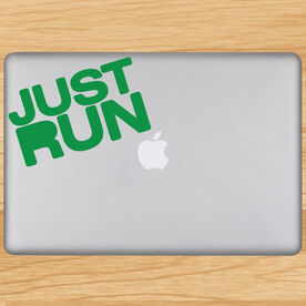 Just Run Removable GoneForaRunGraphix Laptop Decal