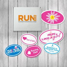 RUNBOX Gift Set - Runner Girl Magnets