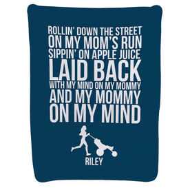 Running Baby Blanket - Laid Back