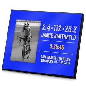 Triathlon Photo Frame Tri Customized Time 140.6